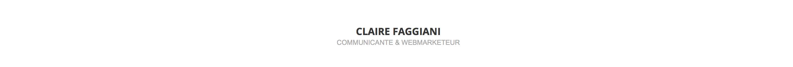 Claire Faggiani